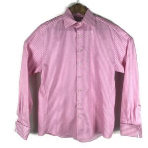 Thomas Pink Button Down Shirt Long Sleeve Pink